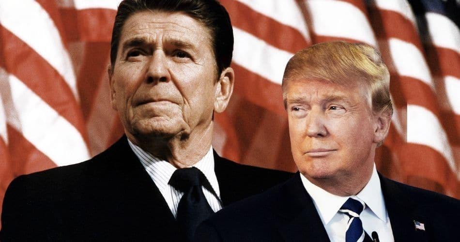 Trump realiza sonho de Ronald Reagan