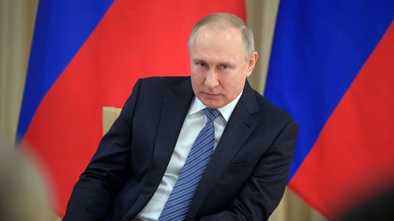 Vladimir Putin no Fórum Econômico Mundial